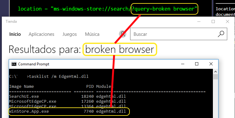 Query Broken Browser