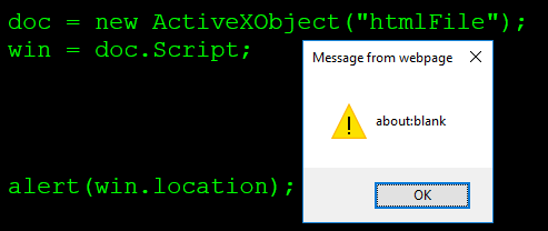 SOP bypass / UXSS htmlFile in IFrame (IE) – Broken Browser